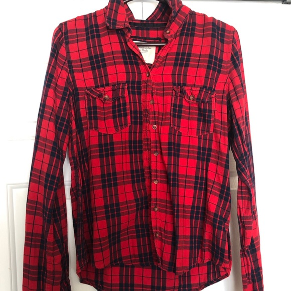 Abercrombie & Fitch Tops - Flannel shirt